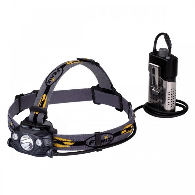 Налобный фонарь Fenix HP30R Cree XM-L2, XP-G2 (R5), черный налобный фонарь fenix hp30r cree xm l2 xp g2 r5 черный