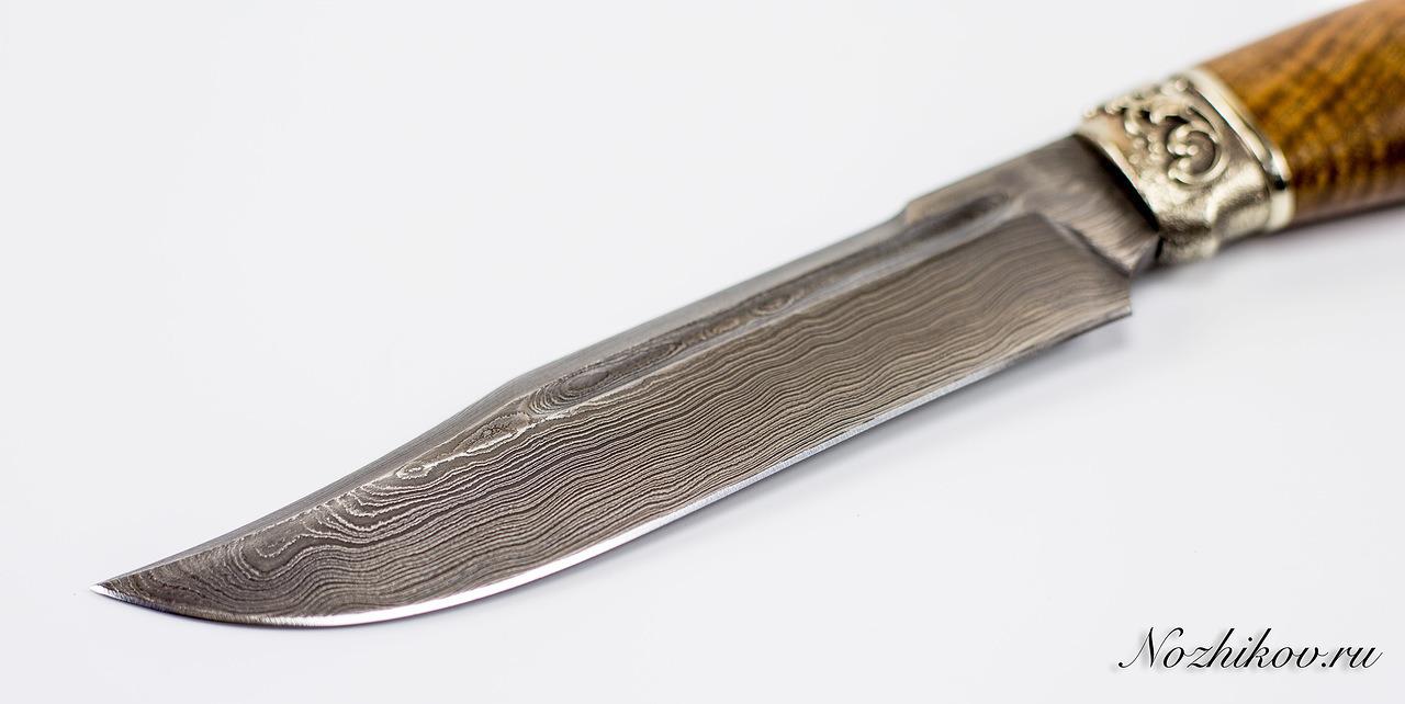 Фото 5 - Авторский Нож из Дамаска №39, Кизляр от Noname