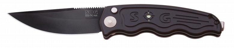 Складной нож SOG-TAC Black TiniВыкидные и автоматические<br>Складной нож SOG-TAC Black Tini<br>