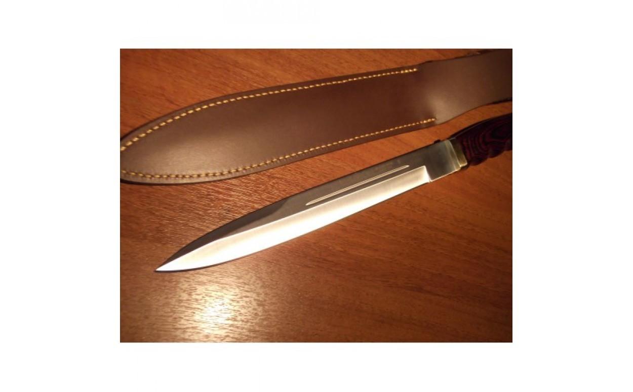 Нож с фиксированным клинком Bowie с чехлом 26.0 см.Охотнику<br>Нож с фиксированным клинком Bowie с чехлом 26.0 см.<br>