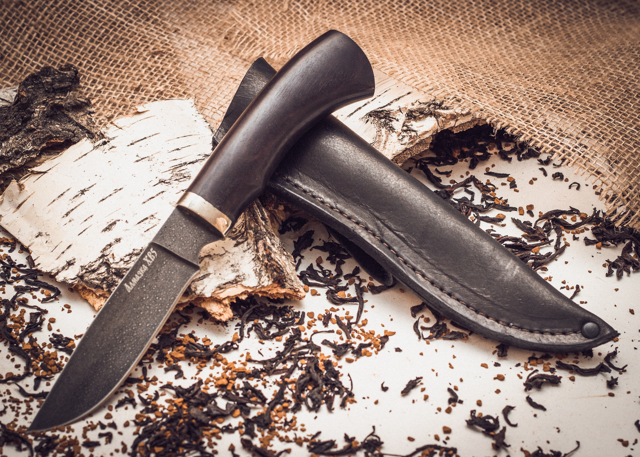 Нож туристический MT-13, алмазка - 3