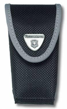 Чехол Victorinox 4.0543.3 нейлоновый для ножей 91мм толщиной 2-4 уровня черный23 февраля<br>Чехол нейлоновый на ремень:<br><br>водонепроницаемый<br>для ножей «Swiss Army Knives» от 2 до 4 уровней<br><br>Цвет: ЧерныйМатериал: Синтетический материал (нейлон)<br>