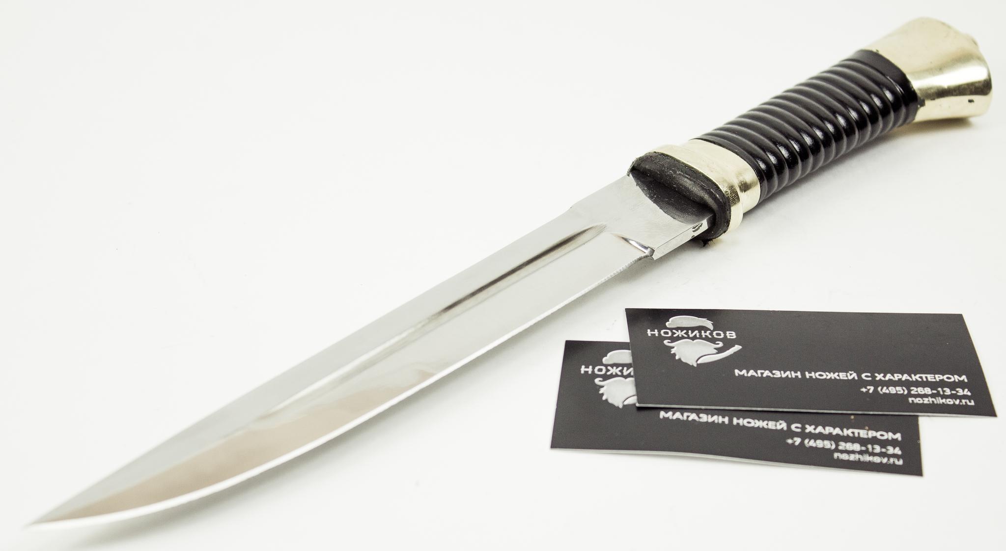 Фото 3 - Нож Пластунский, сталь 95x18, латунь от Донская оружейная фабрика