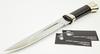 Нож Пластунский, сталь 95x18, латунь - Nozhikov.ru