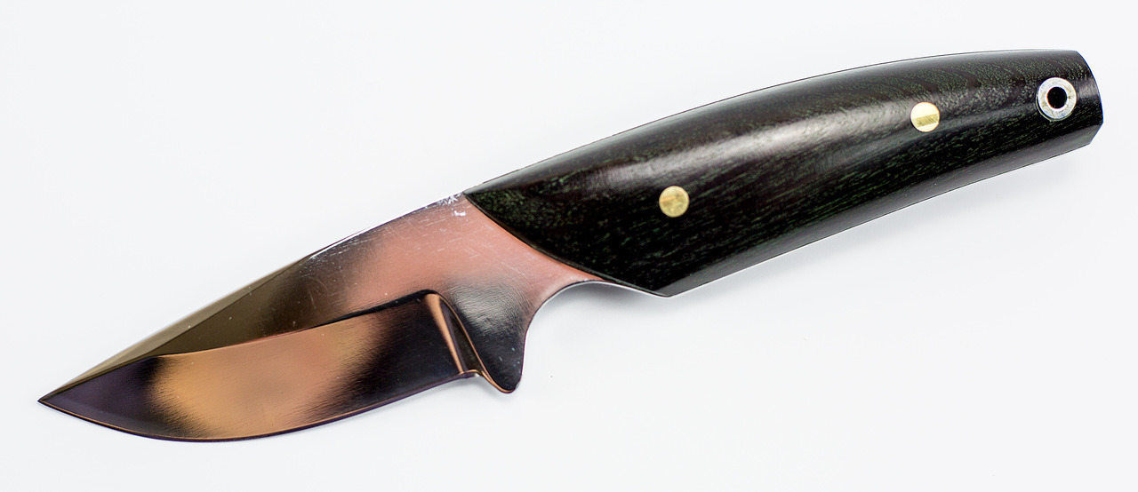 Фото 2 - Нож цельнометаллический Вуди, Х12МФ от Павловские ножи