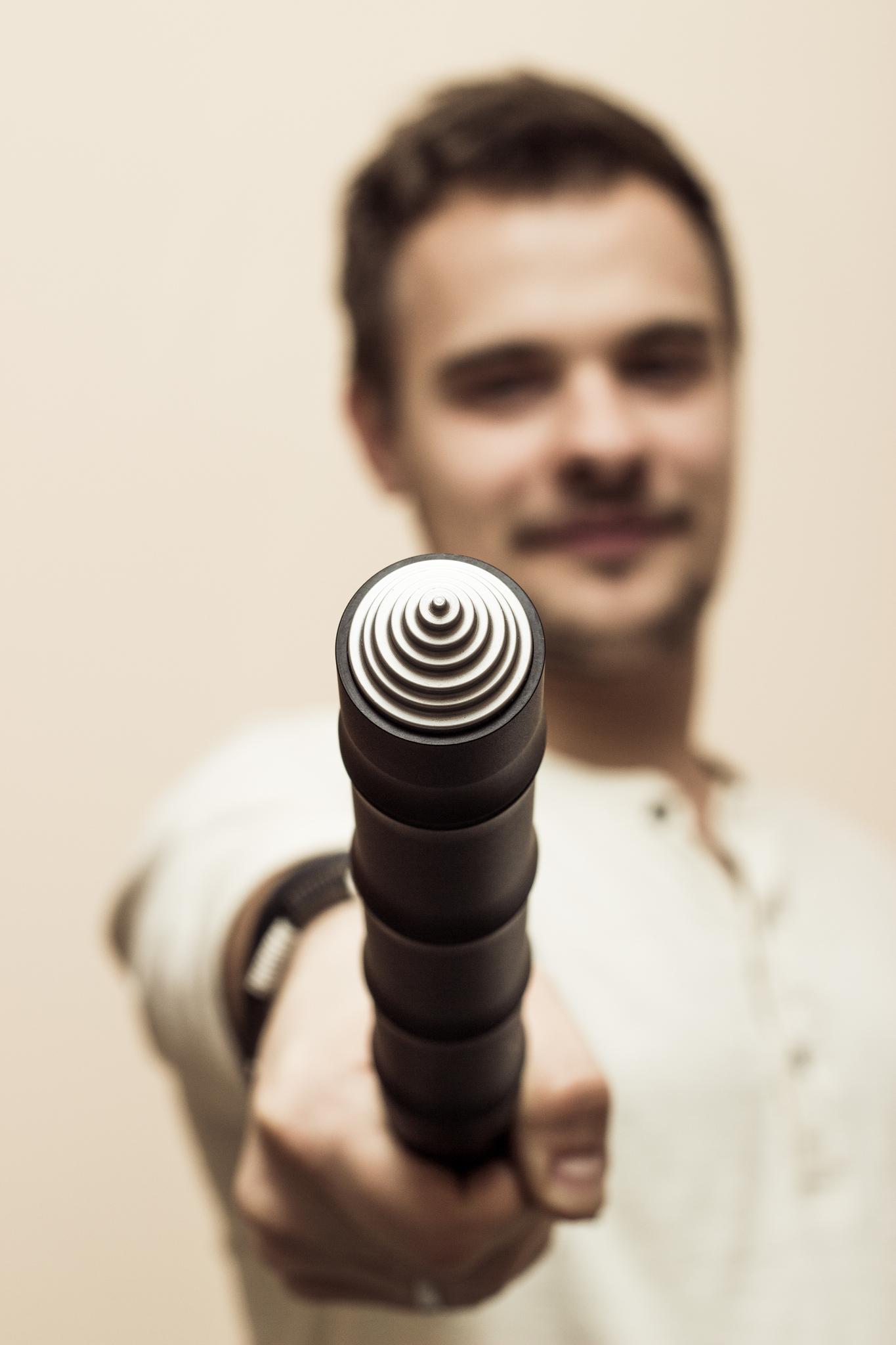 Фото 3 - Нож дубинка скрытого ношения Бамбук от Steelclaw