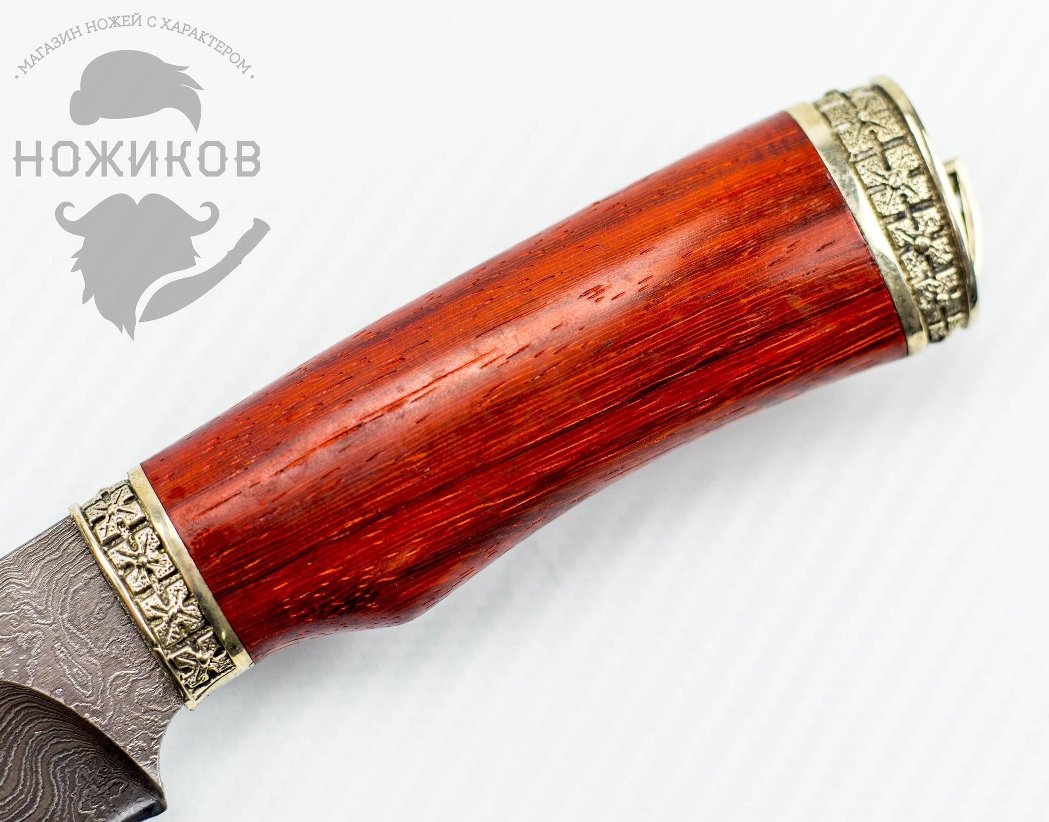 Фото 3 - Авторский Нож из Дамаска №80, Кизляр от Noname