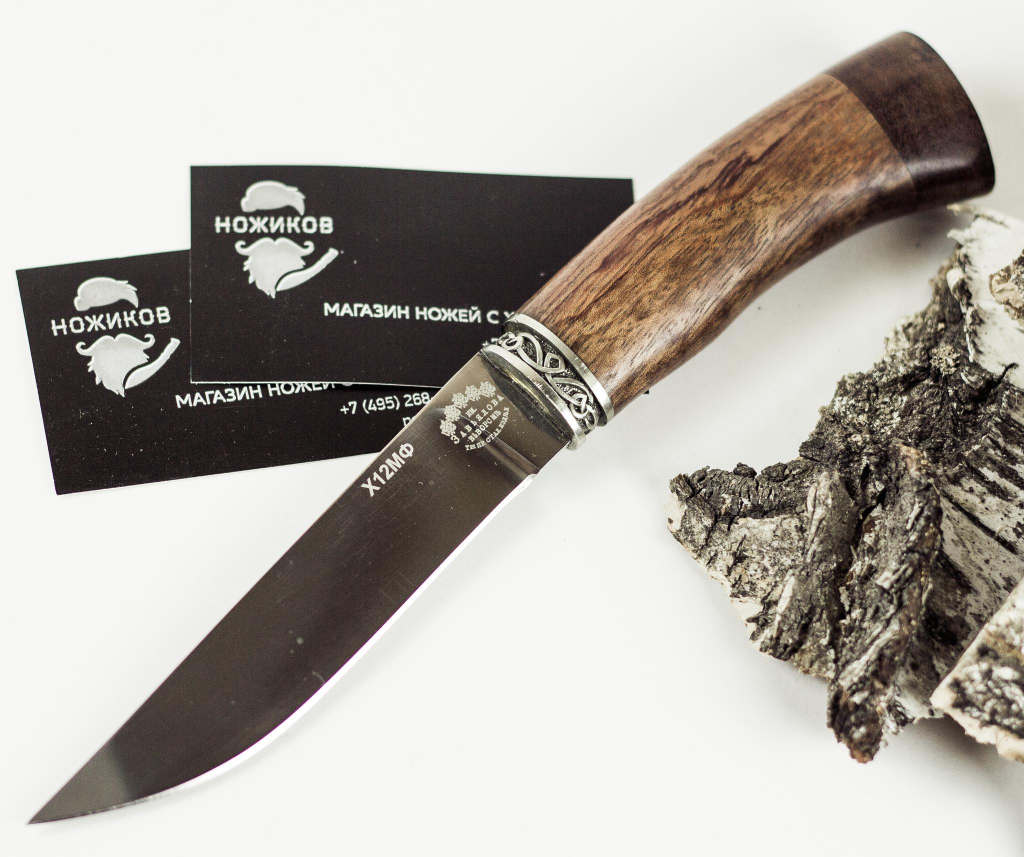 Нож Ладья-4  Х12МФНожи Ворсма<br><br>