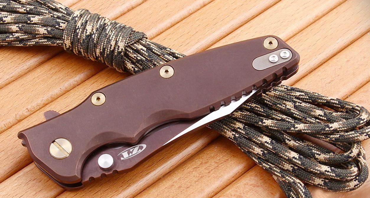 Складной нож Zero Tolerance 0392BRNGLD