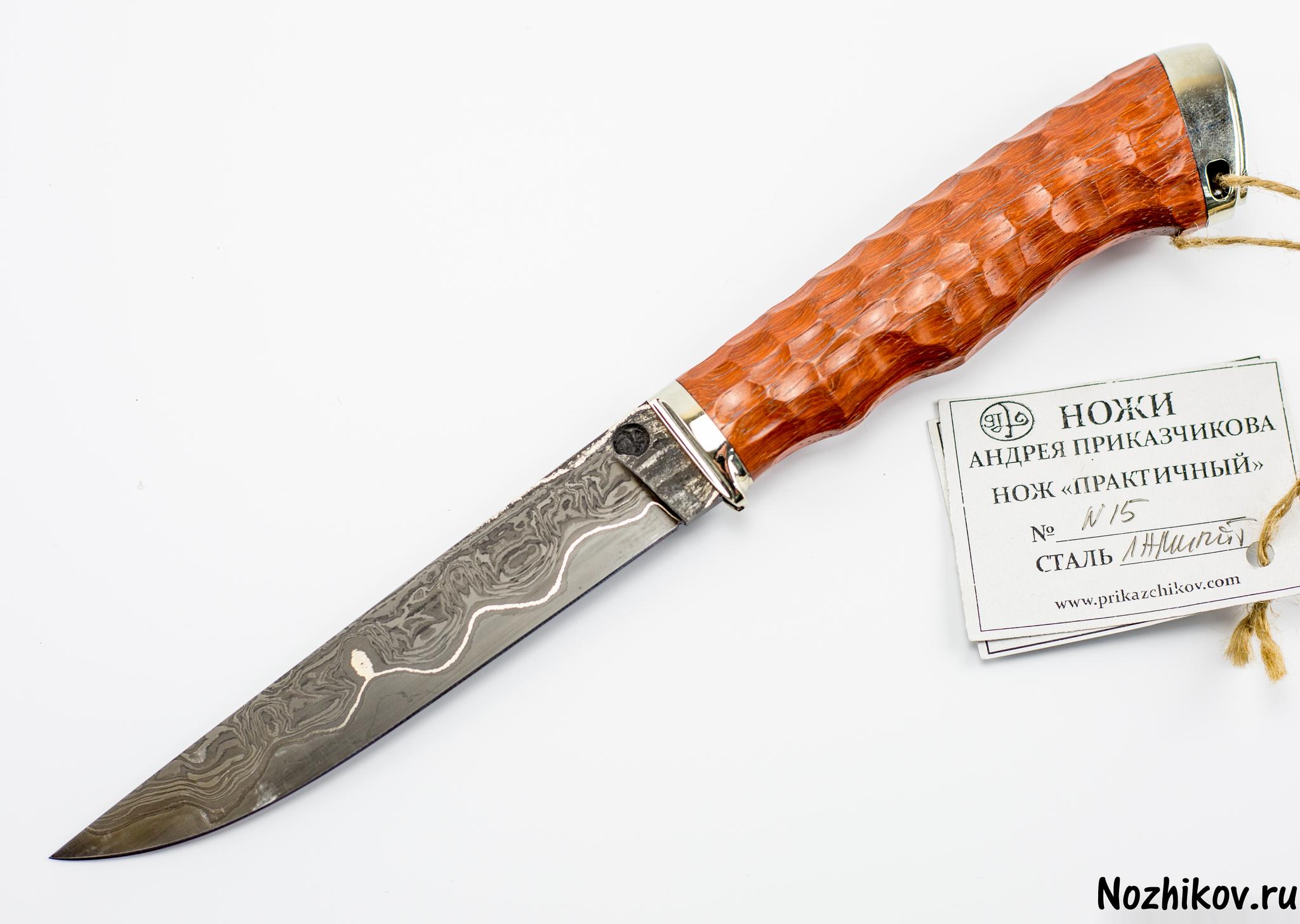 Нож Практичный №15 из Ламината, от Приказчикова