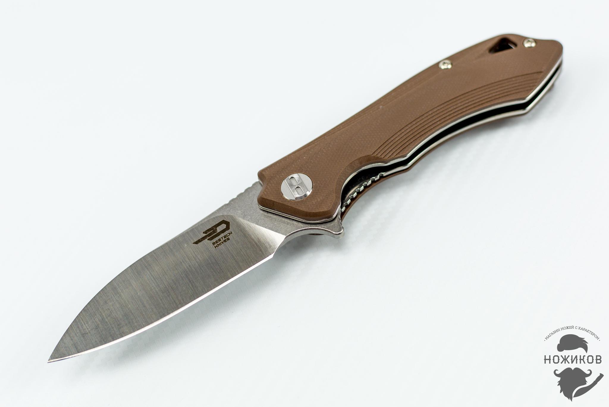 Фото 3 - Складной нож Bestech Beluga BG11C-2, сталь Sandvik 12C27 от Bestech Knives
