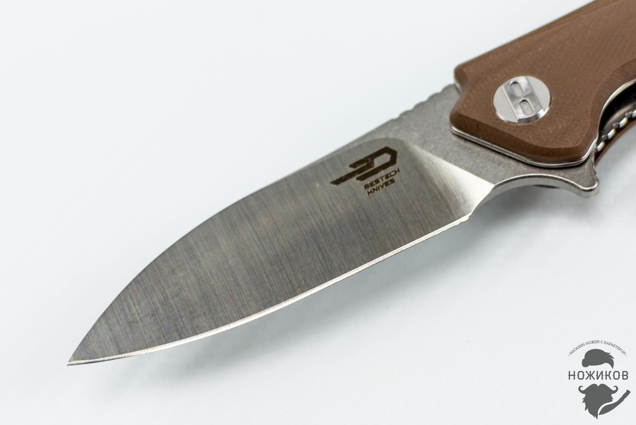 Фото 5 - Складной нож Bestech Beluga BG11C-2, сталь Sandvik 12C27 от Bestech Knives