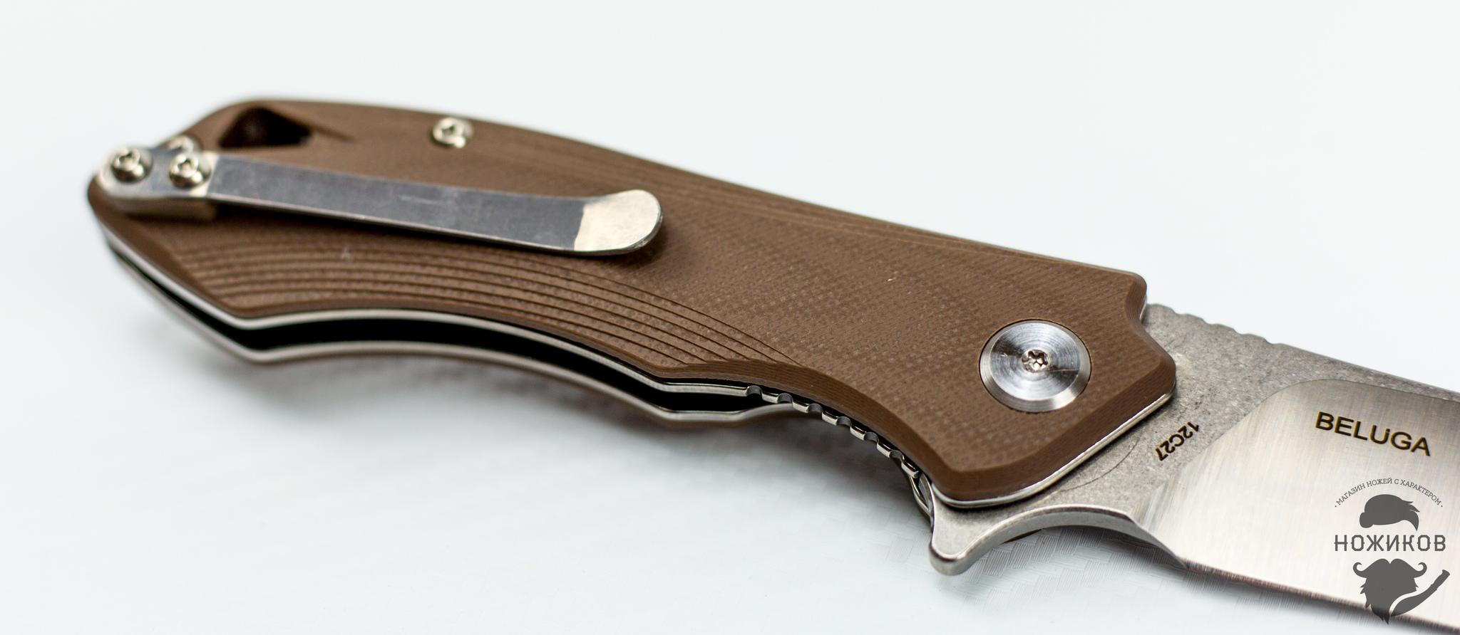 Фото 7 - Складной нож Bestech Beluga BG11C-2, сталь Sandvik 12C27 от Bestech Knives