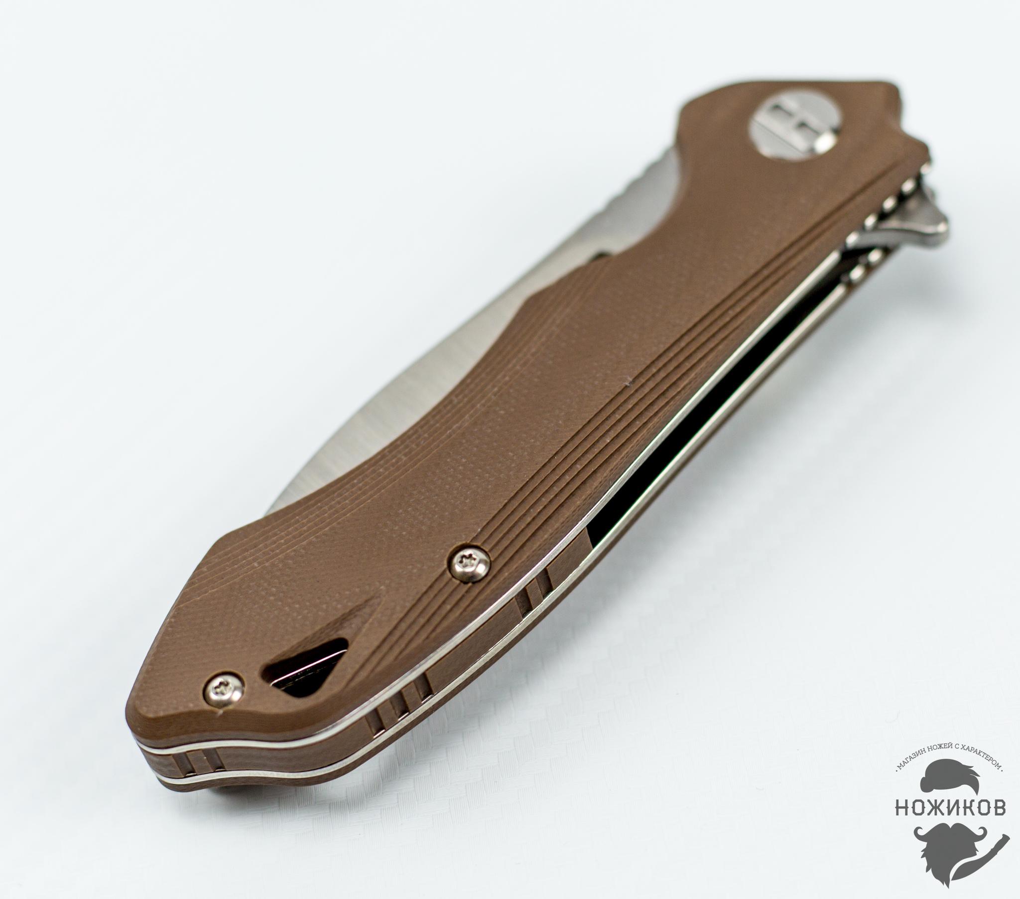 Фото 8 - Складной нож Bestech Beluga BG11C-2, сталь Sandvik 12C27 от Bestech Knives