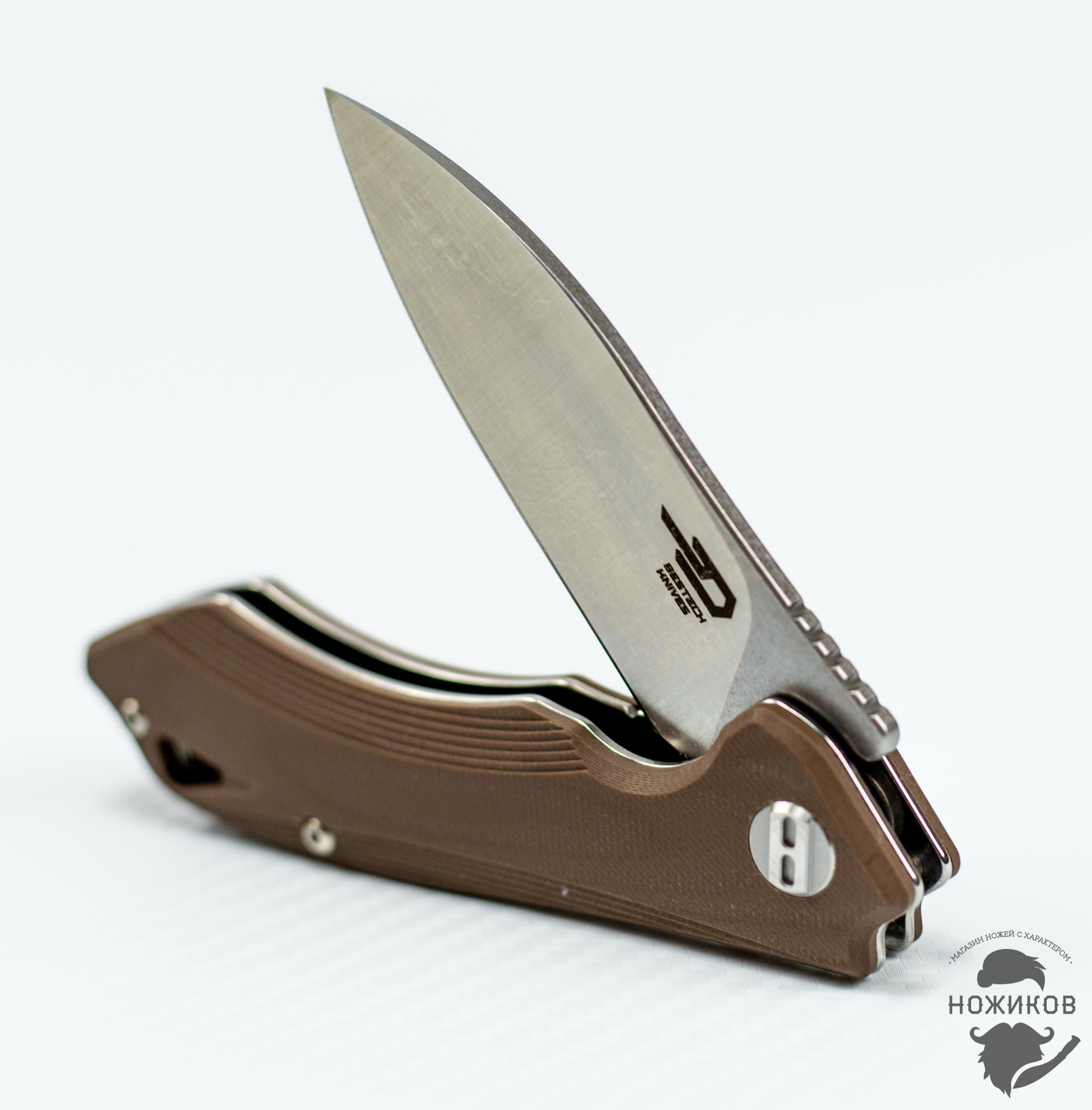 Фото 9 - Складной нож Bestech Beluga BG11C-2, сталь Sandvik 12C27 от Bestech Knives
