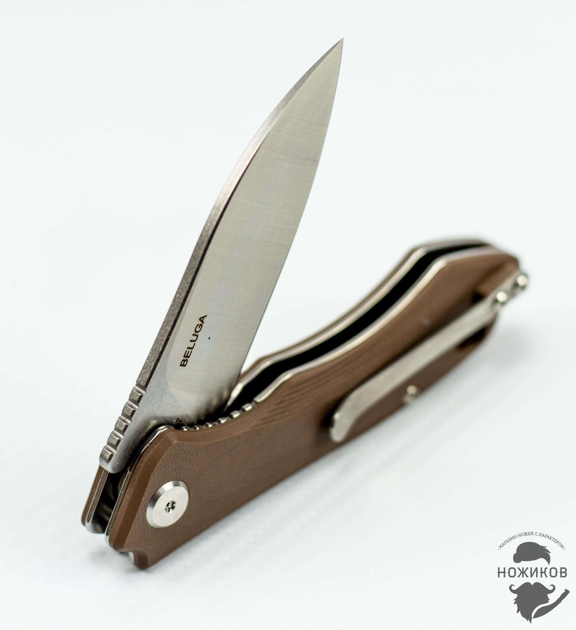 Фото 10 - Складной нож Bestech Beluga BG11C-2, сталь Sandvik 12C27 от Bestech Knives