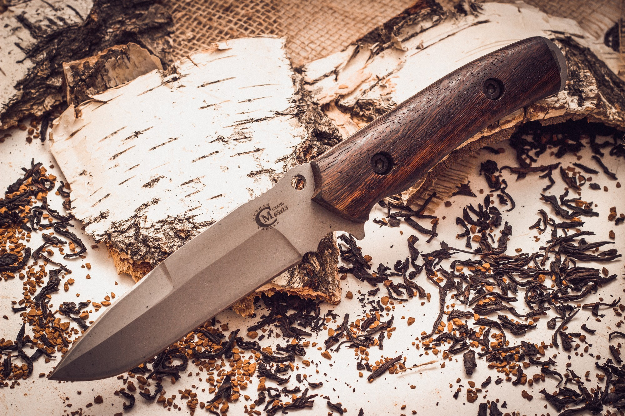 Нож «Сапер», сталь 65х13Ножи Ворсма<br>Нож «Сапер», сталь 65х13<br>