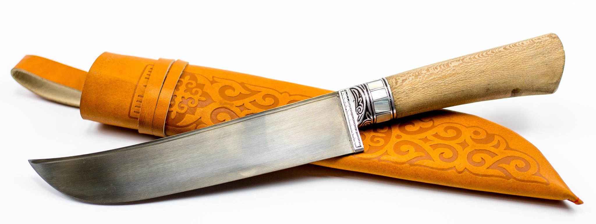 Пчак Чинар сухма с садафомУзбекские ножи Пчак<br>Узбекский универсальный нож Пчак.<br>