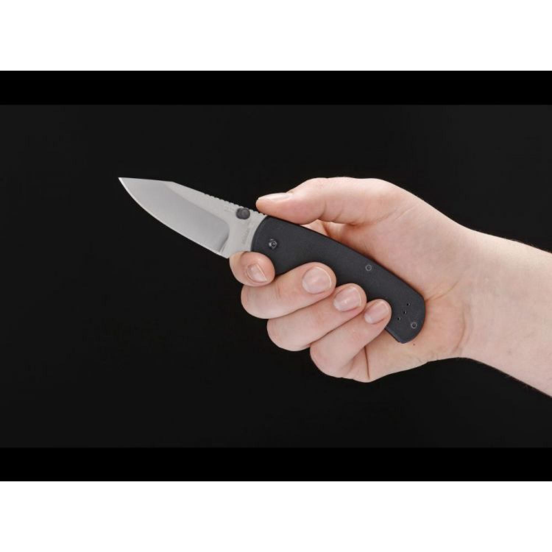 Нож складной Chad Los Banos XS, Gray Blade, Boker