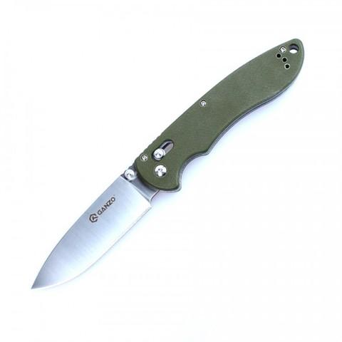 Нож Ganzo G740, зеленый - Nozhikov.ru