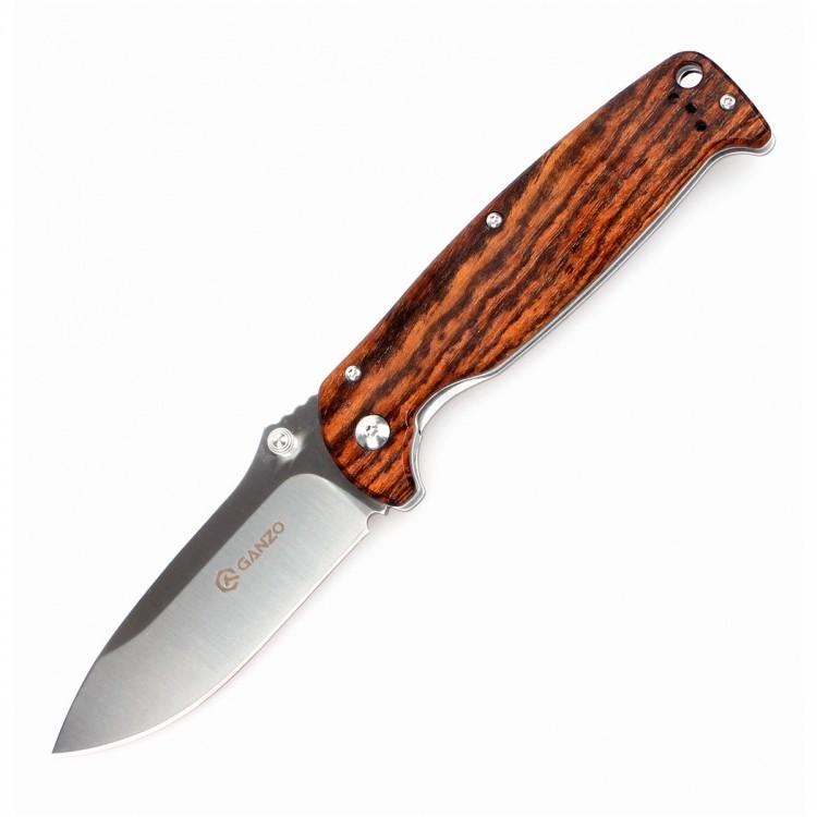 Нож Ganzo G742-1, светлое дерево нож ganzo g704 зелёный