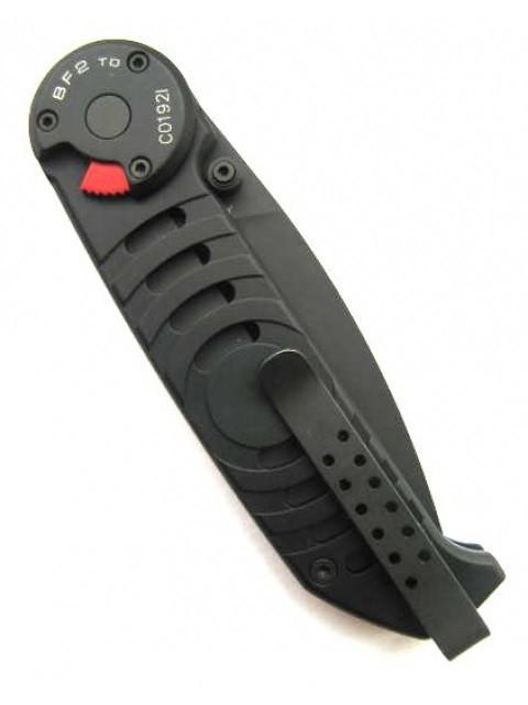 Фото 2 - Складной нож Extrema Ratio BF2 Tactical Drop Point Black, сталь Bhler N690, рукоять алюминий