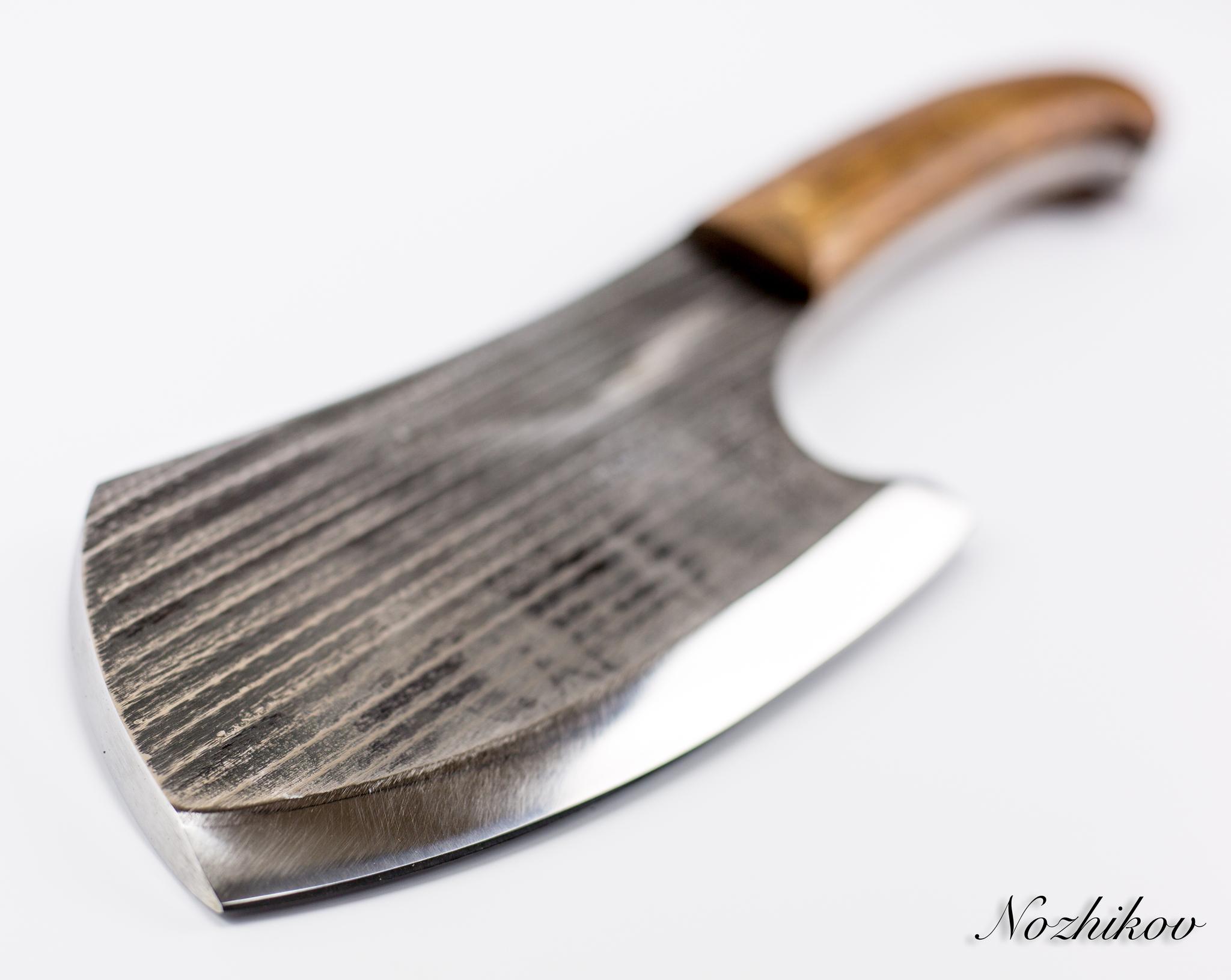 Фото 5 - Тяпка для мяса №7, сталь У8 от Мастерская Климентьева