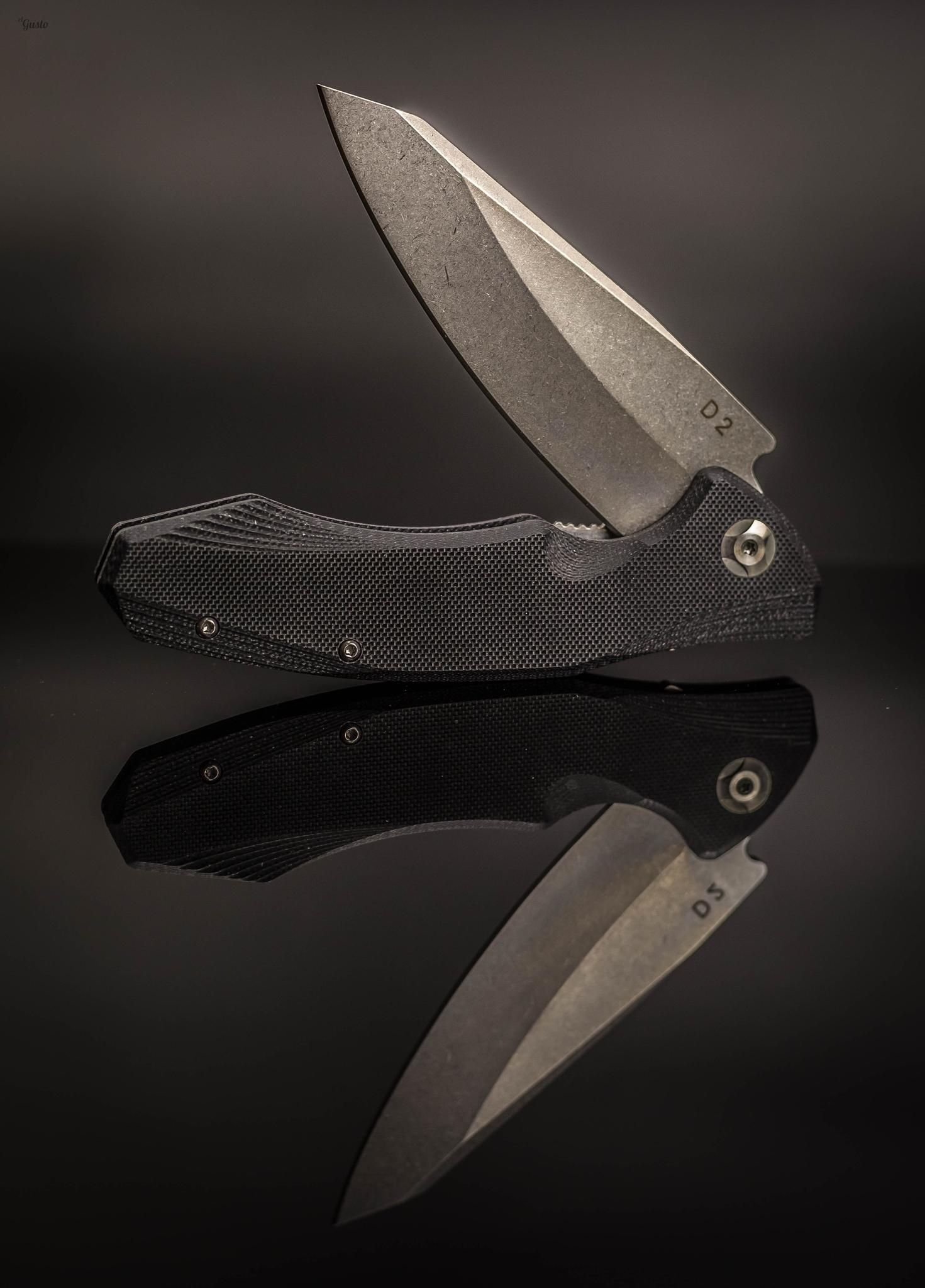Фото 5 - Складной нож Junior Black, сталь D2