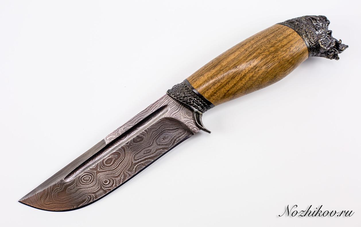 Авторский Нож из Дамаска №40, КизлярНожи Кизляр<br><br>