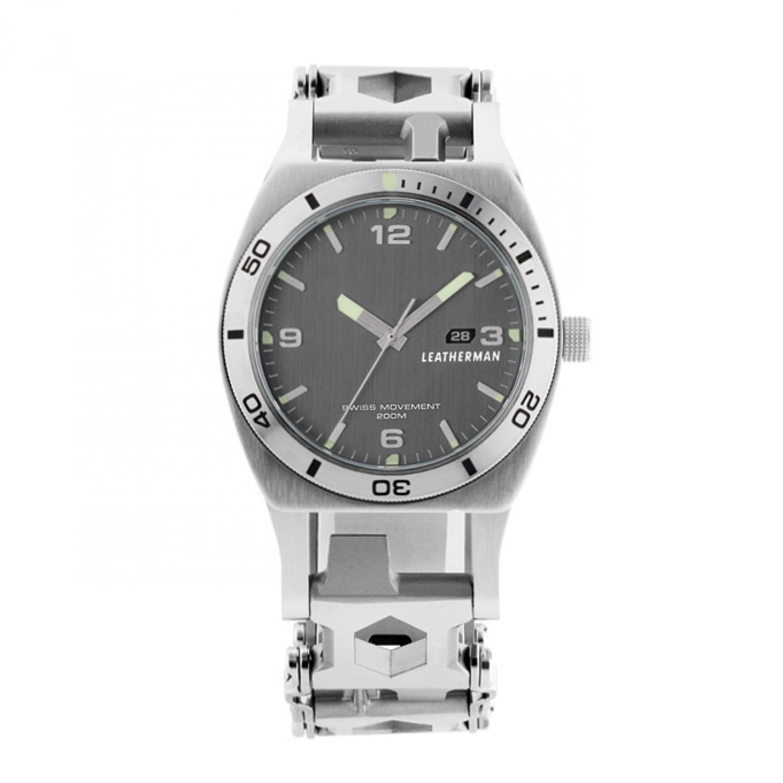 Фото 3 - Часы мультитул Leatherman Tread™ Tempo с браслетом