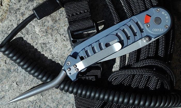 Фото 3 - Складной нож Extrema Ratio BF2 V, сталь Bhler N690, рукоять алюминий