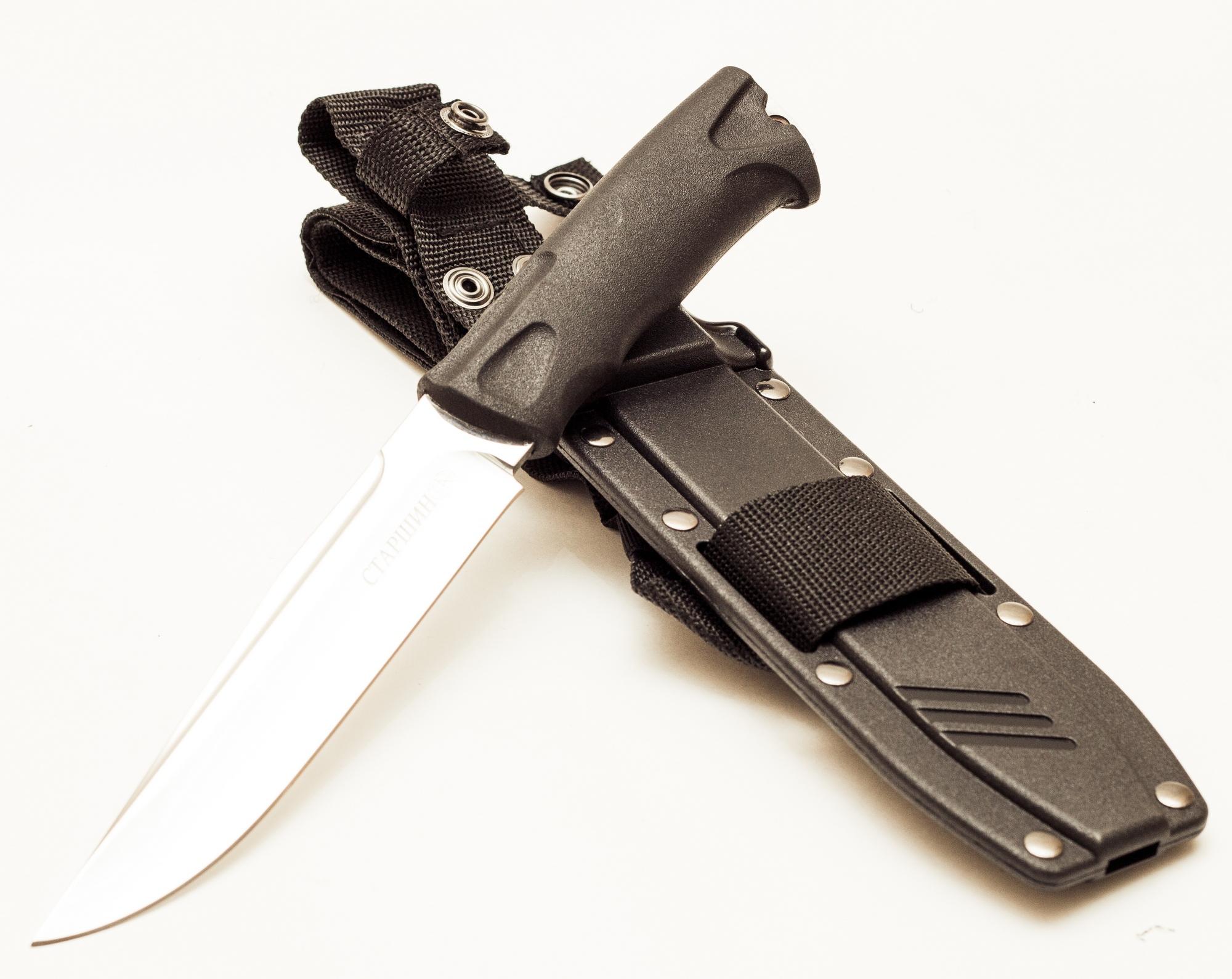 Нож Старшина VD74B с белым клинком