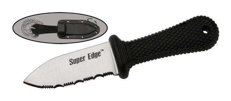 Шейный нож MH003Ножи скрытого ношения<br>РепликаCold Steel<br>Oбщая длина- 107 мм Длина клинка- 50 мм Толщина клинка- 2,0 мм Сталь- 440Рукоять- кратон Чехол- пластик Cold Steel<br>