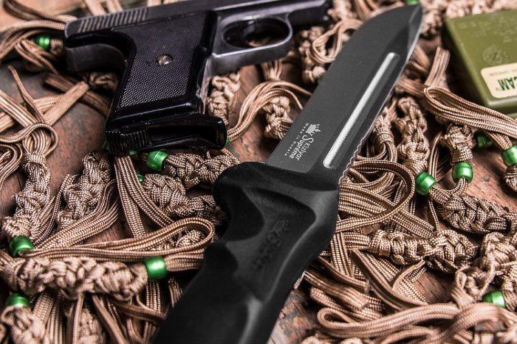 Фото 4 - Нож Dominus AUS-8 SW, Kizlyar Supreme