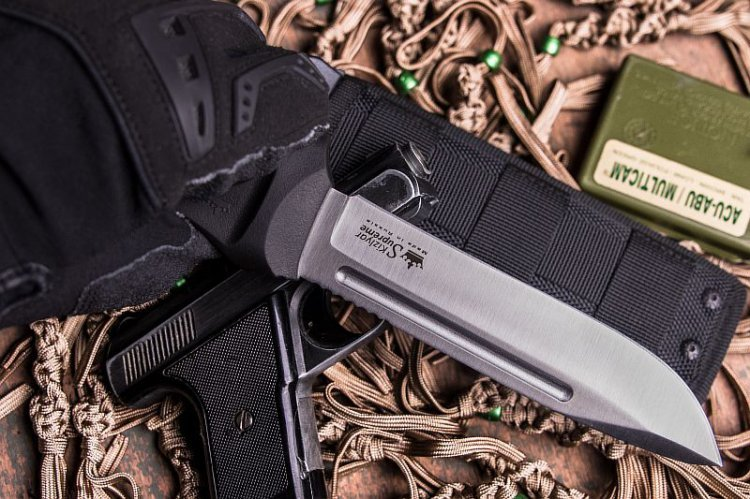Фото 3 - Нож Dominus AUS-8 SW, Kizlyar Supreme
