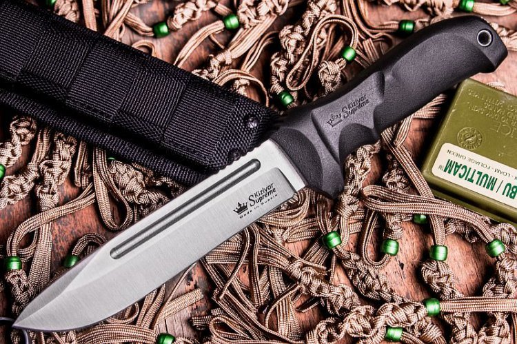 Фото - Нож Dominus AUS-8 SW, Kizlyar Supreme