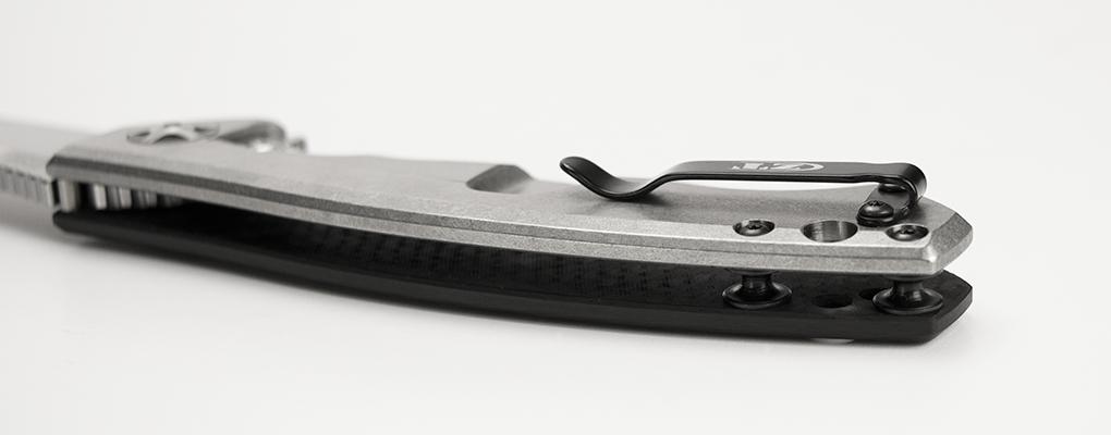 Фото 3 - Складной нож Zero Tolerance 0452CF, сталь CPM S35VN, рукоять титан/карбон