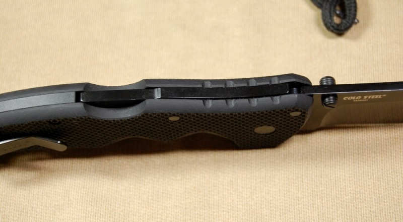 Складной нож Recon 1 Clip Point, Teflon Coated Japanese Aus 8A Steel, Black G-10 Handle 10.2 см. нож в киеве steel 58tpc code 4 clip point