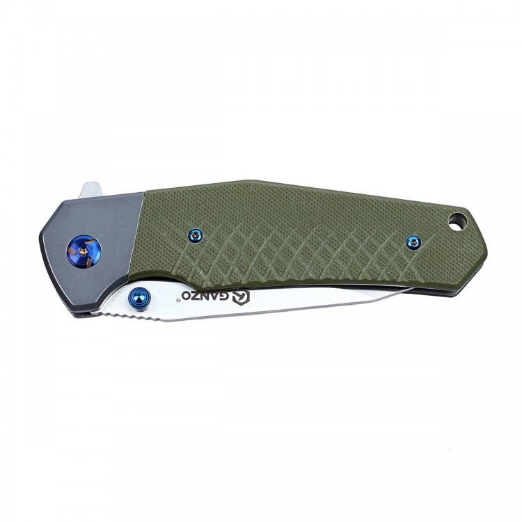 Фото 4 - Нож Ganzo G7491 зеленый