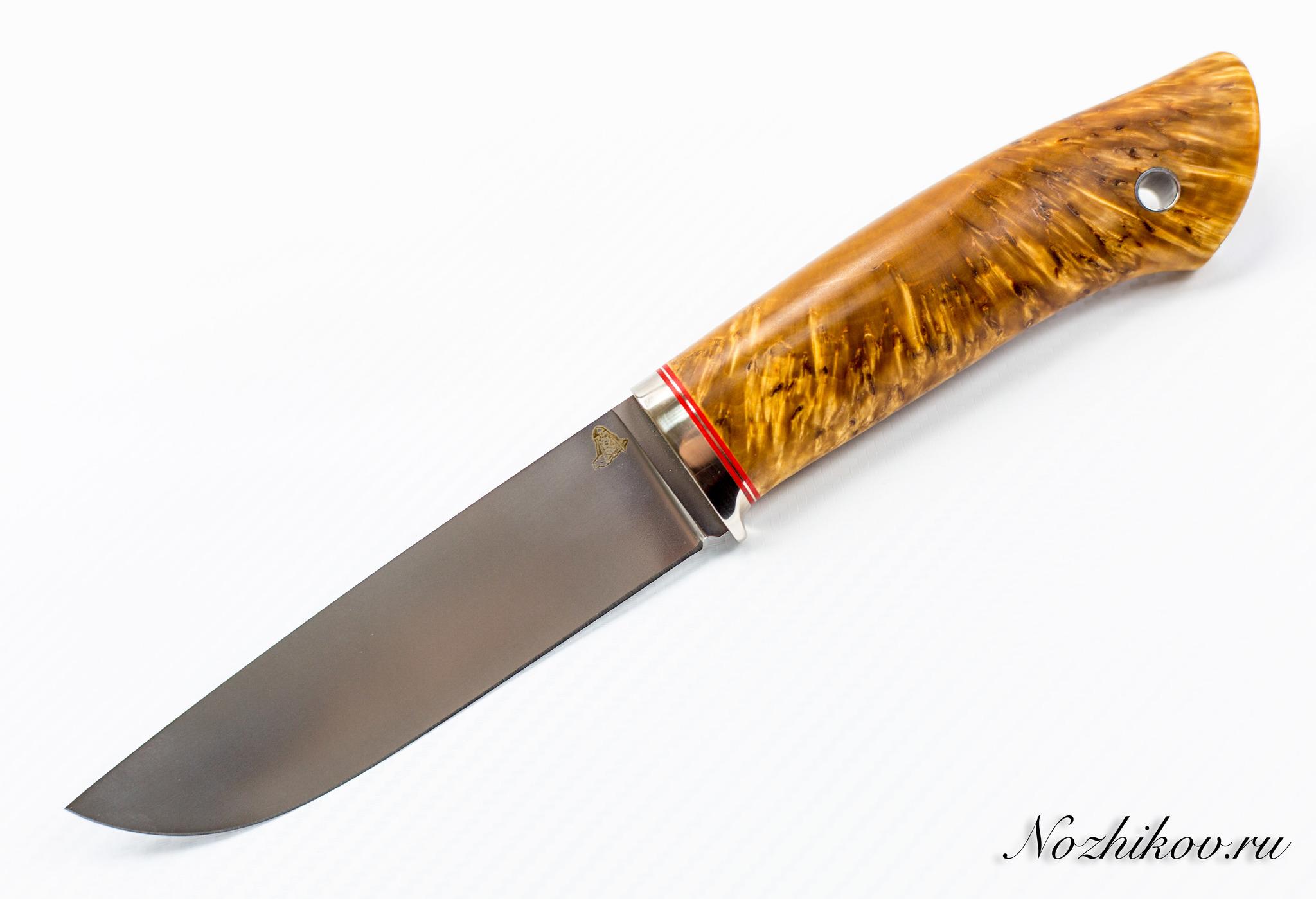 Нож Клык, M390, коричневыйНожи Ворсма<br>Нож Клык, M390<br>