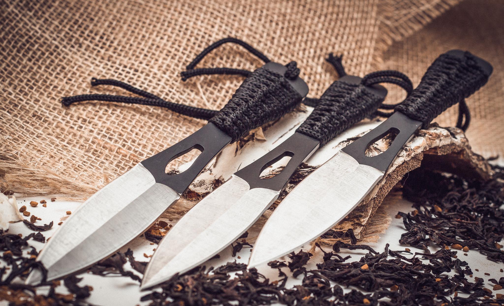 """Набор метательных ножей Оса от Магазин ножей """"Ножиков"""""""