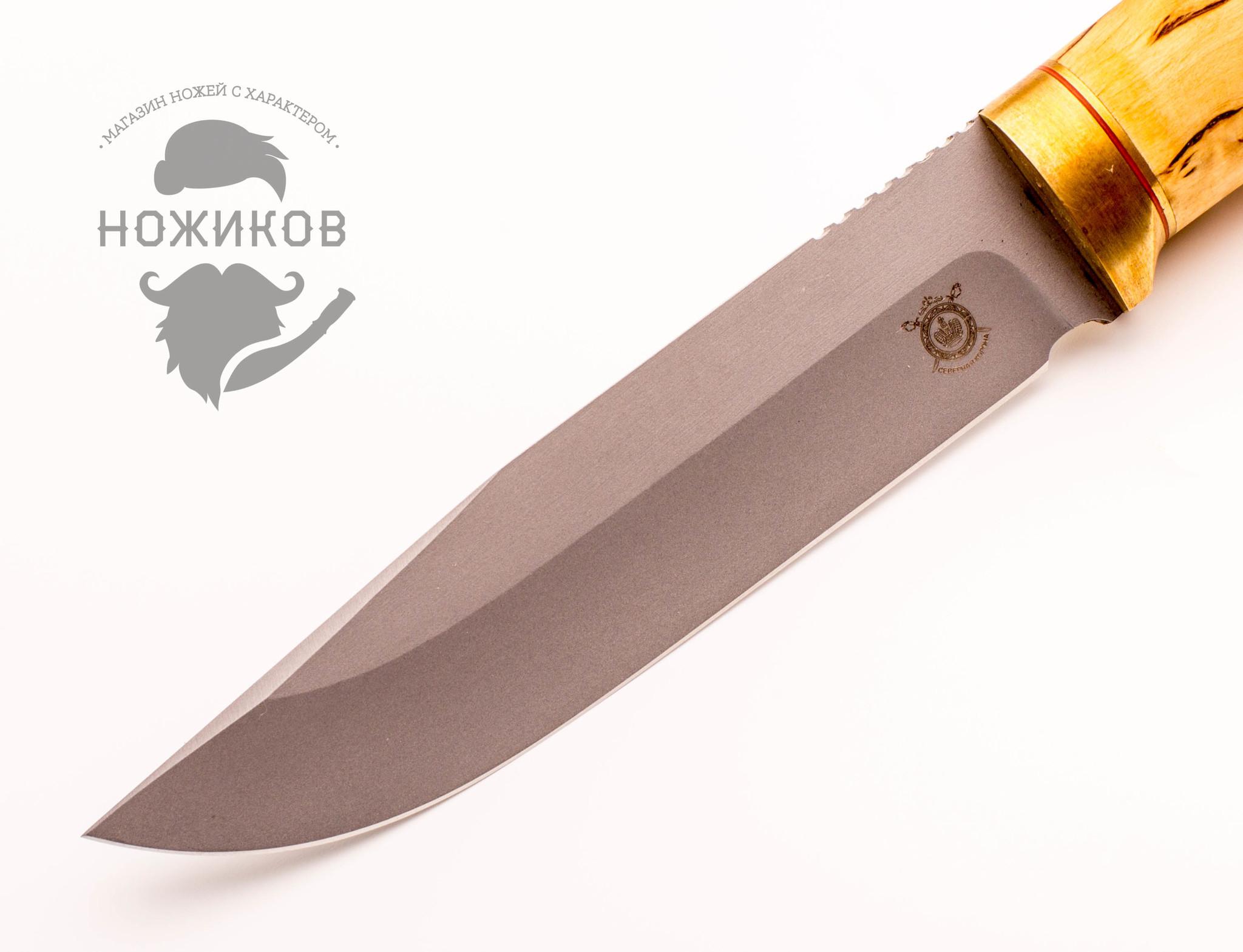 Фото 5 - Нож Оцелот, карельская береза от Северная корона