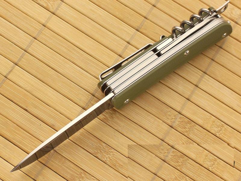 Нож складной Tech-Tool Outdoor 3, Boker, Green G-10