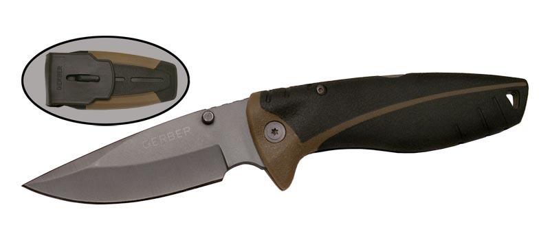Складной нож Gerber M9645Раскладные ножи<br>GERBER (реплика)<br>Oбщая длина- 209 мм Длина клинка- 74 мм Толщина клинка- 3,2 Сталь- 440Рукоять- пластик Чехол- пластик<br>