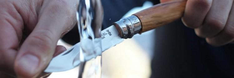 Фото 3 - Нож складной Opinel №8, оливковое дерево