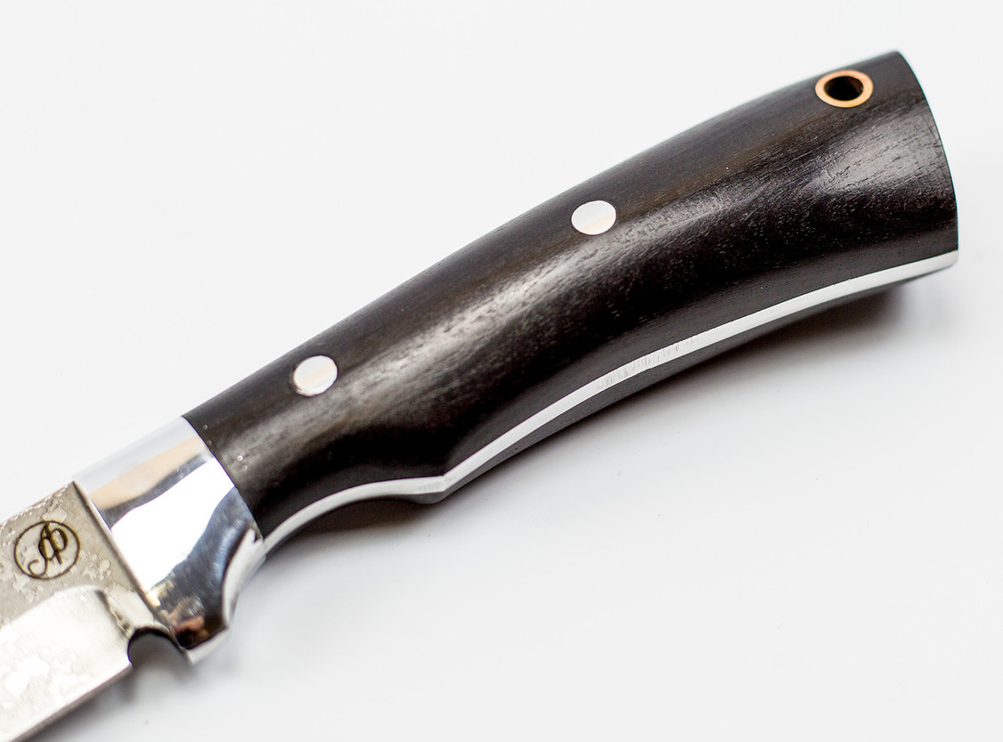 Фото 3 - Нож Ирбис малютка цмт, сталь Х12МФ, рукоять граб от Ножи Фурсач
