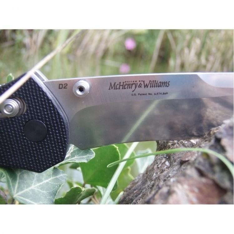 Фото 4 - Нож складной 710D2, сталь D2, рукоять G-10 от Benchmade