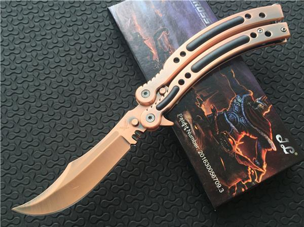 Фото - Нож-бабочка (балисонг) CS GO Бронза от Noname