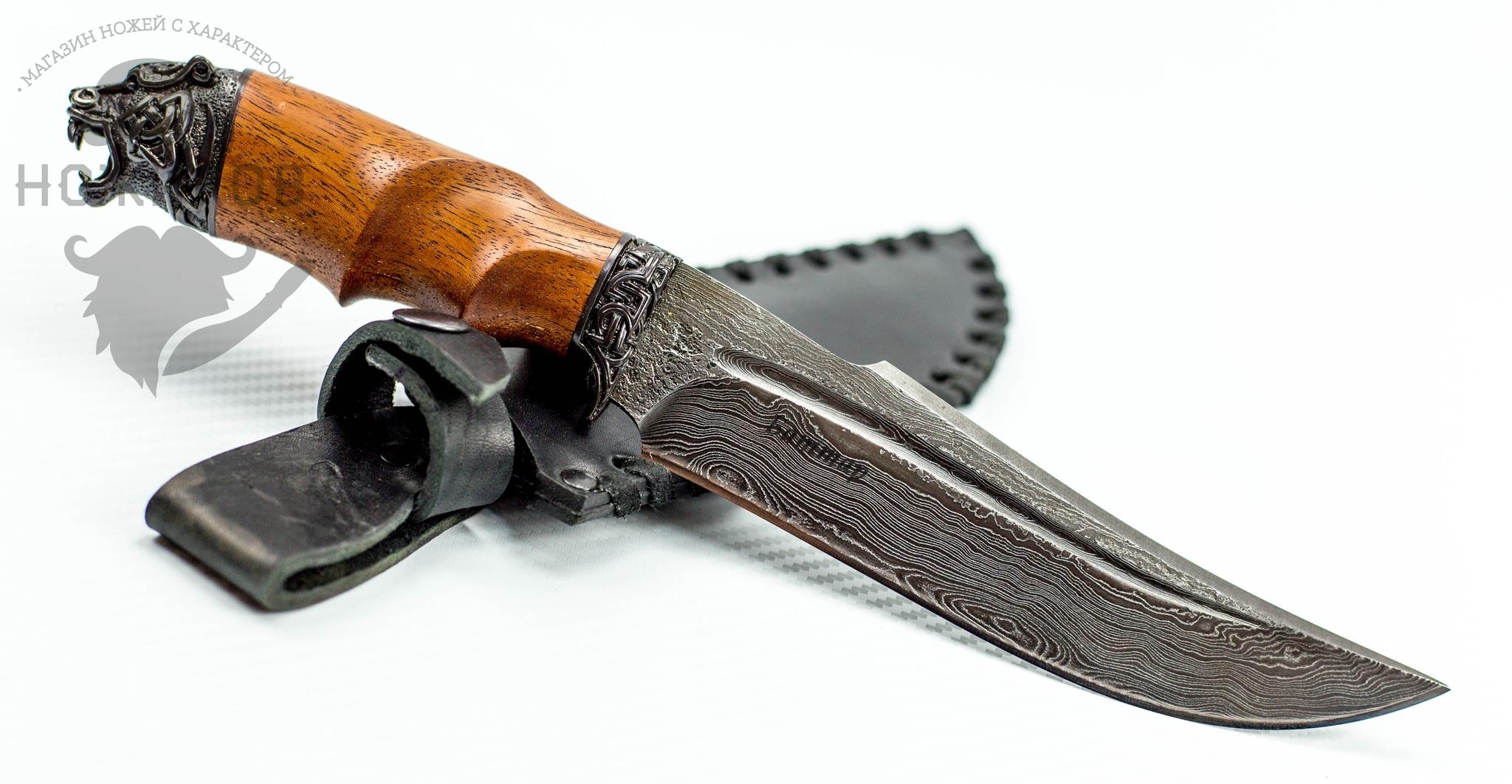 Фото 4 - Авторский Нож из Дамаска №82, Кизляр