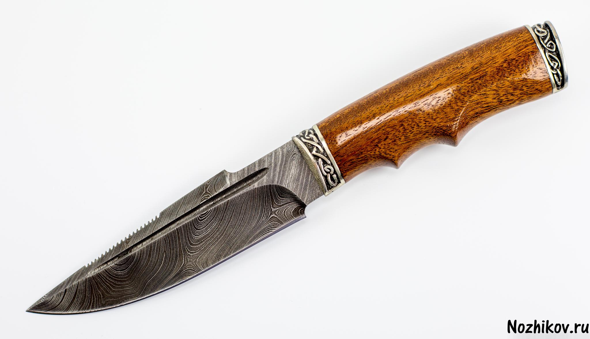 Авторский Нож из Дамаска №8, Кизляр